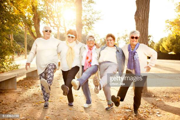 happy senior adult women wearing sunglasses - young at heart stock pictures, royalty-free photos & images