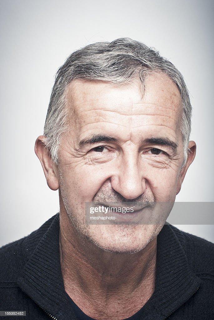 Happy Senior Man : Stock Photo