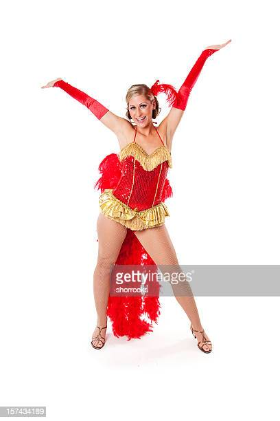 happy showgirls - show girl stock photos and pictures