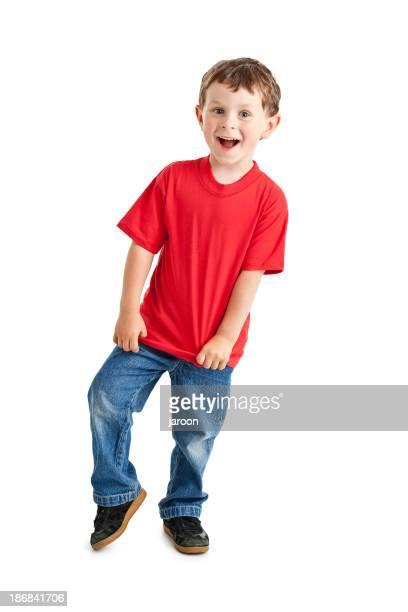 happy small boy