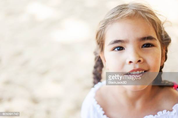 happy small girl - very young thai girls stock photos and pictures