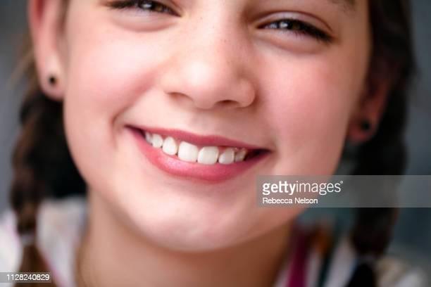 happy, smiling girl