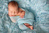 http://www.istockphoto.com/photo/happy-smiling-newborn-baby-in-wrap-sleeping-happily-in-cozy-fur-gm850113486-139573277