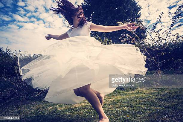happy smiling young woman - spinning stock pictures, royalty-free photos & images