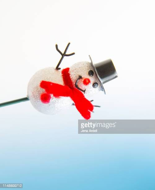 happy snowman winter background, snowman background, happy holidays, season's greetings - happy holidays stock photos and pictures