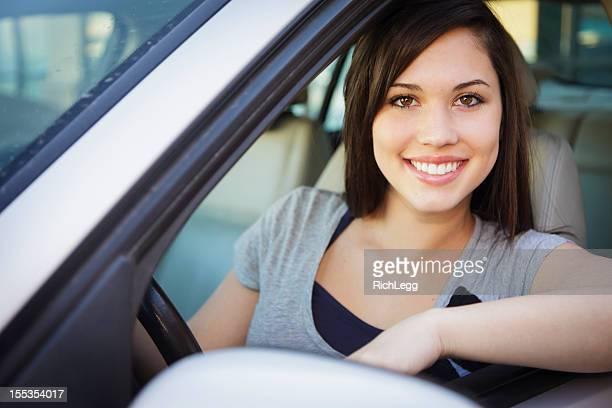 Happy Teen Driver