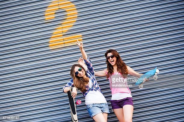 Felizes Meninas Adolescentes