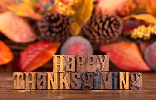 Happy Thanksgiving Banner 1037159932