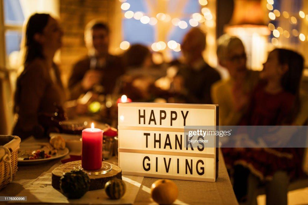Happy Thanksgiving people! : Foto stock