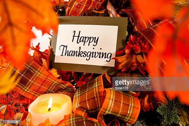 Happy Thanksgiving still life