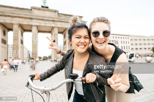 happy time in berlin - germany stock pictures, royalty-free photos & images