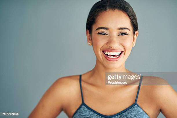 happy to be fit - peopleimages stock pictures, royalty-free photos & images