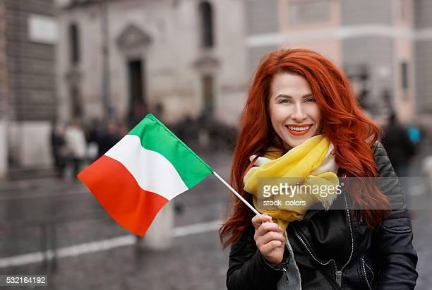 Heureux d'être en Italie