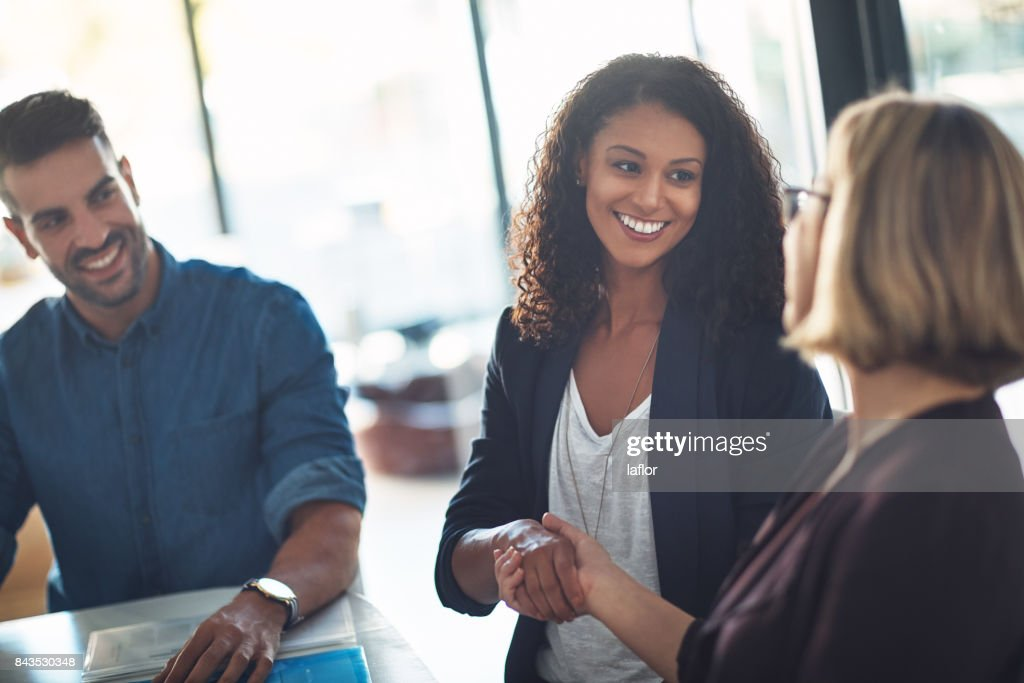Happy to have you on the team : Stock Photo