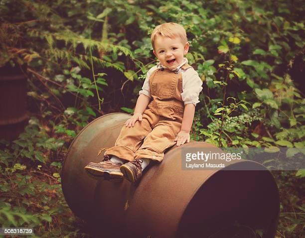 Happy Toddler - 55 Gallon Drum