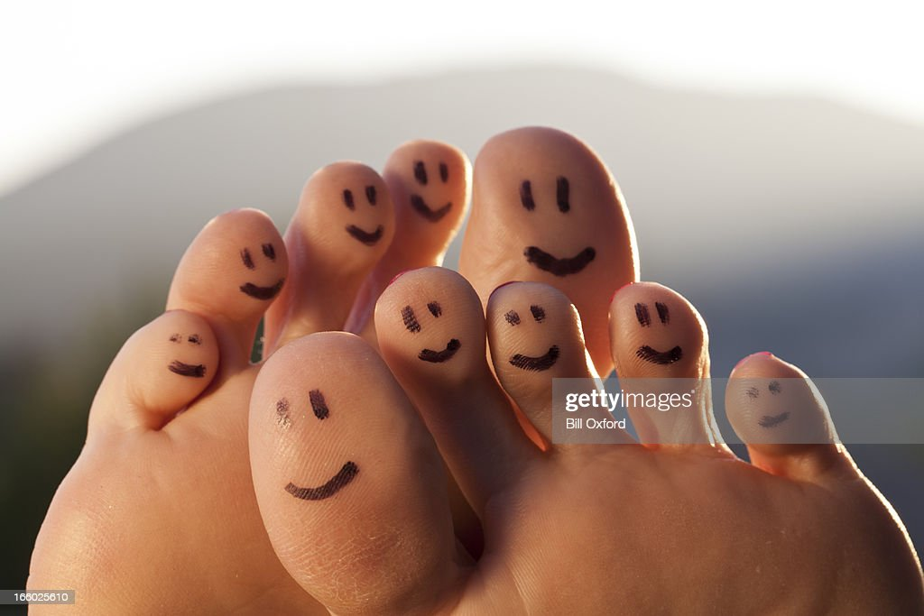 Happy Toes : Stock Photo