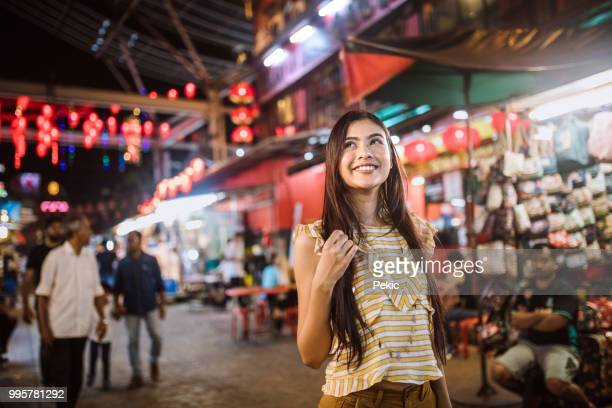 happy tourist - malaysian culture stock pictures, royalty-free photos & images