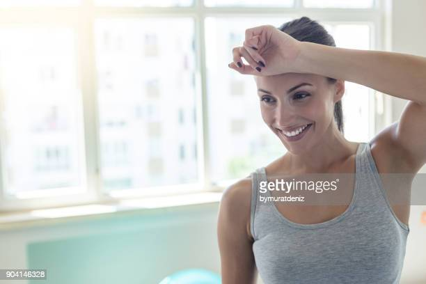 happy training day - forehead stock pictures, royalty-free photos & images