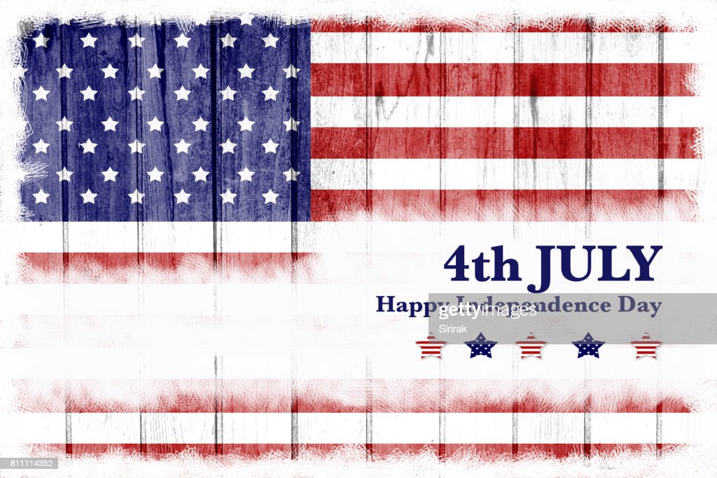 Happy Usa Independence Day 4th July Stock Photo Getty Images