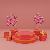happy valentines day for product presentation