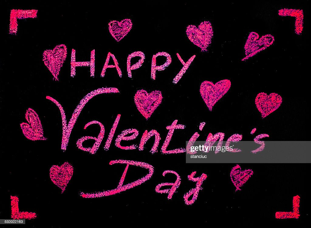Happy Valentines Day Greeting Card Stock Photo Getty Images