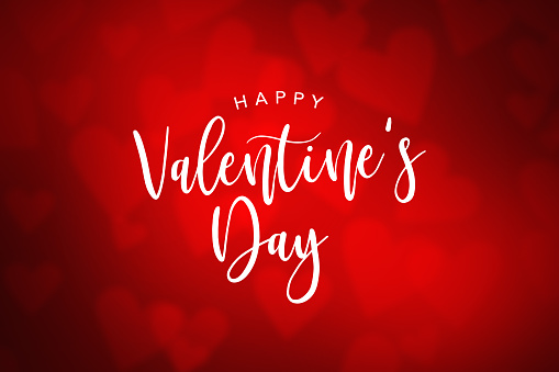 Happy Valentine's Day Holiday Text 912352348