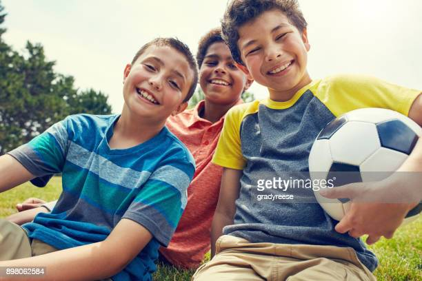 happy when they have their ball - children only stock pictures, royalty-free photos & images