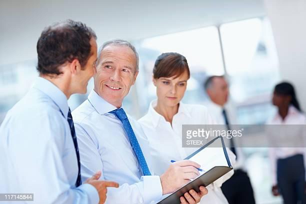 CEO soddisfatto della proposta