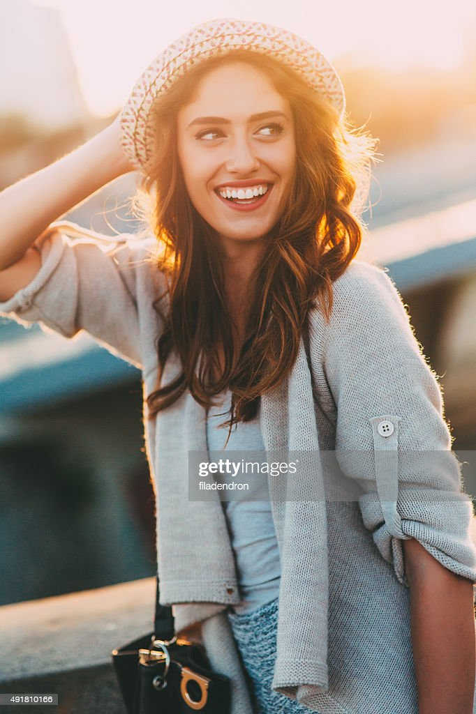 Happy Woman : Stock Photo