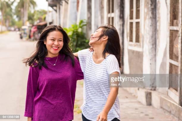 Happy women friends