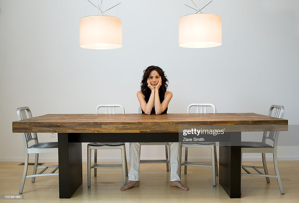 Happy Women in Designer Home : Stock Photo