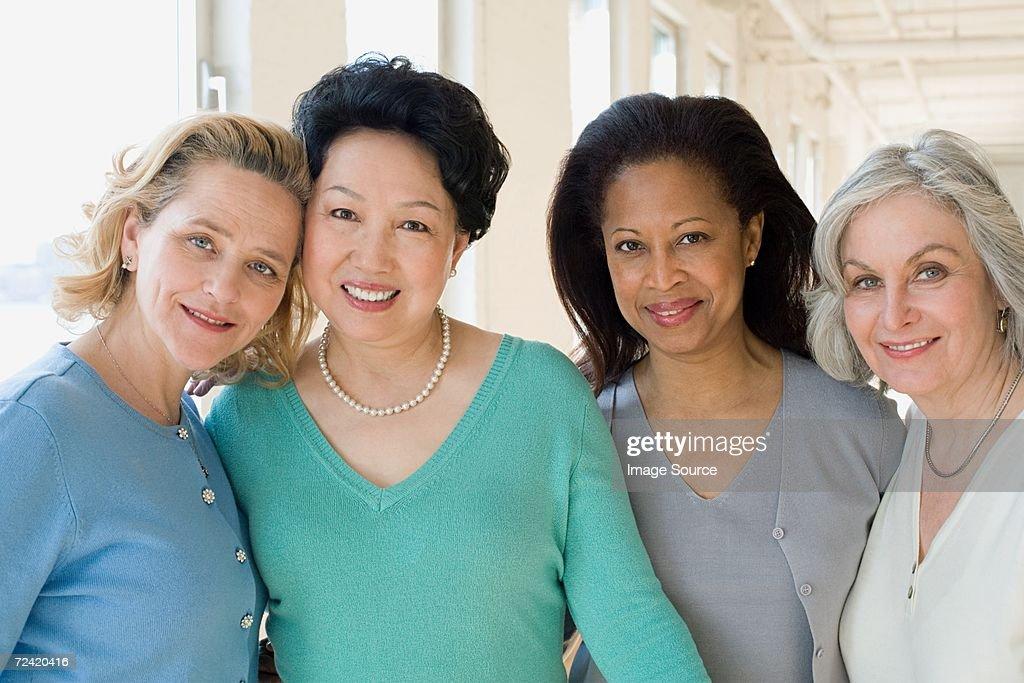 Happy women : Stock Photo