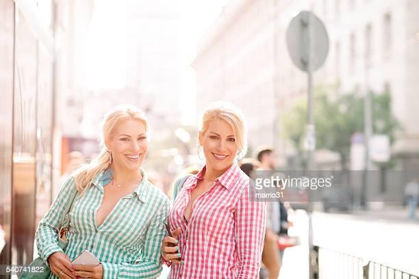 Glückliche Frauen Porträt