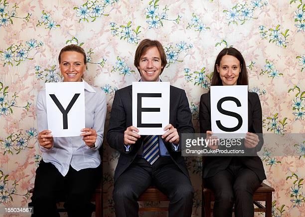 Happy yes
