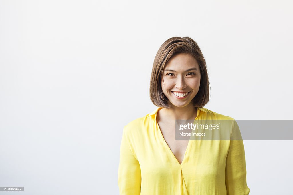 Happy young businesswoman : Stock-Foto