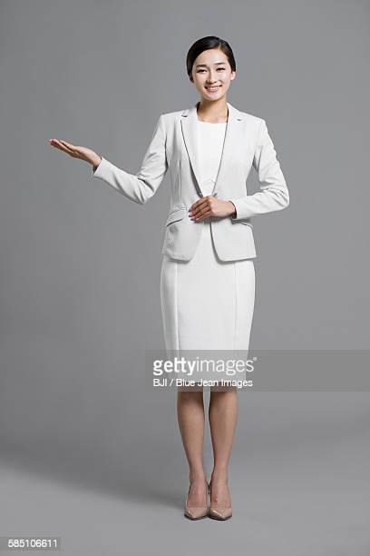 happy young businesswoman - 若い女性だけ ストックフォトと画像