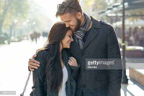 happy young couple - admiration stock pictures, royalty-free photos & images