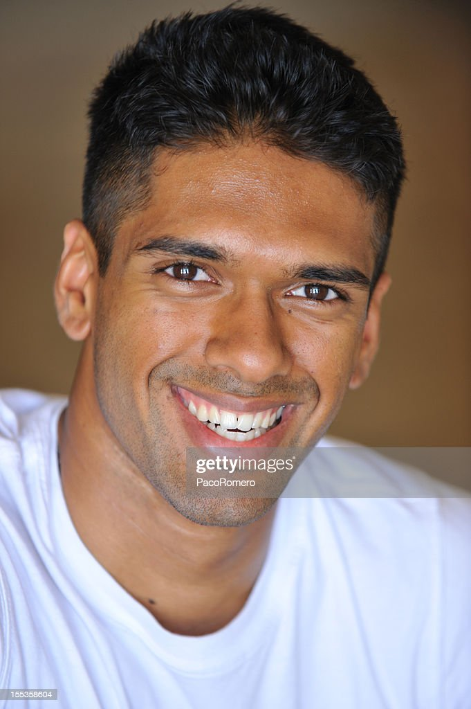 Happy young Indian man : Stock Photo