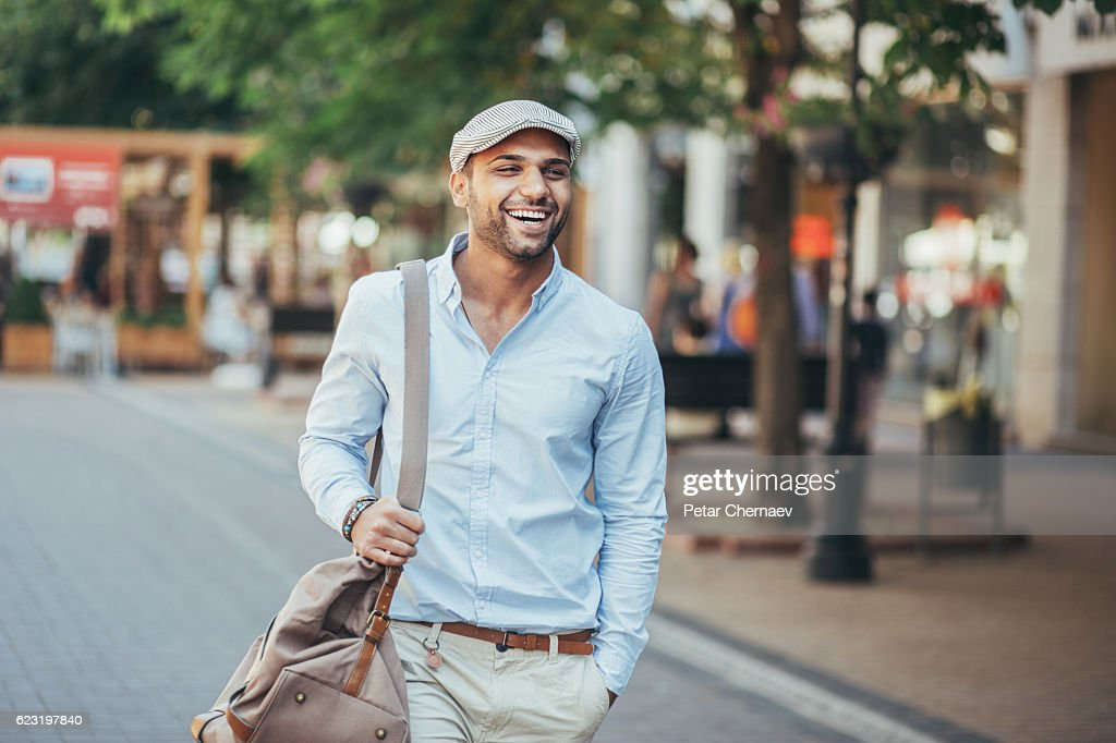 Happy young man : Stock Photo