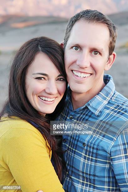 happy young married couple - hazel bond stock photos and pictures