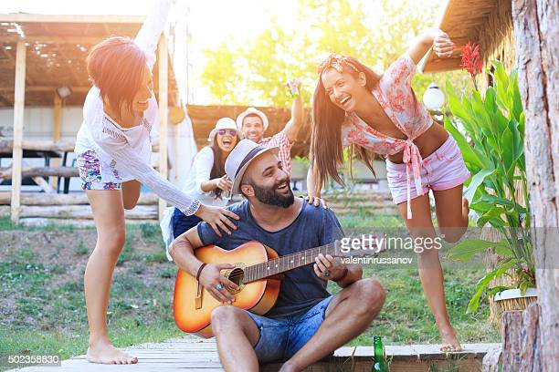 60 Top Man Playing Guitar In Porch Pictures, Photos