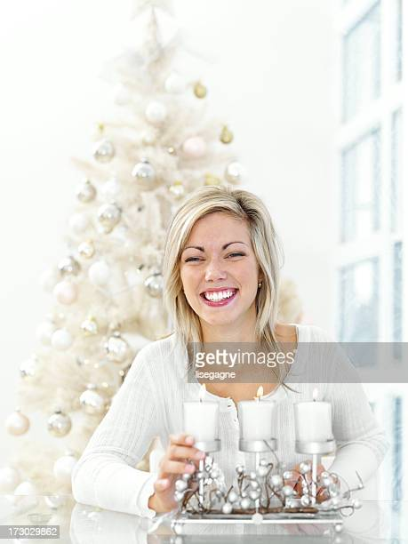 Happy Young Woman