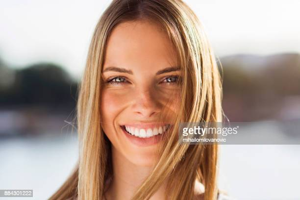happy young woman - natural condition stock pictures, royalty-free photos & images