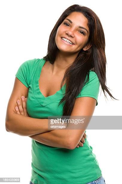Heureuse jeune femme Portrait