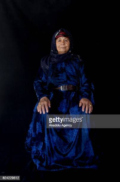 Hapse Guclu hosts her relatives who escaped from Tell Abyad district of Syria's Raqqa province due to the 6yearlong ongoing Syrian civil war poses...