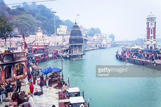har ki pauri, haridwar - ghat stock pictures, royalty-free photos & images