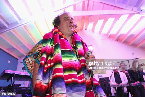 Har Mar Superstar performs onstage at the SXSW Music Opening Party during the 2016 SXSW Music Film Interactive Festival at Maggie Mae's on March 15...