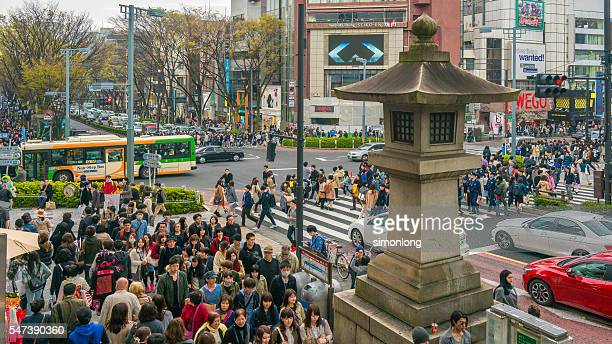 harajuku district tokyo, japan - 代々木 ストックフォトと画像