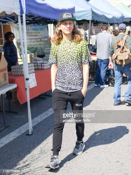 Haralambi Tahov is seen on March 24 2019 in Los Angeles California