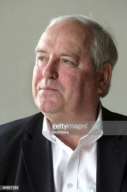 Harald Falckenberg director of Sammlung Falckenberg poses in his office in Hamburg Germany on Monday Oct 8 2007 For years the 64 year old has been on...